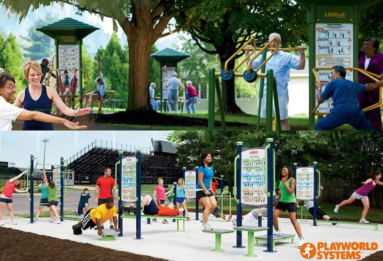 Attrezzi da ginnastica per esterno - Attrezzi da giardino per bambini ...